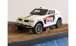 Mitsubishi Pajero EVO Dakar 1/43 Kit