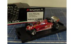 F1 Ferrari 126 CK 1/43 Brumm, масштабная модель, scale43