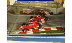 F1 Ferrari 126 C2 DUEL 1/43 Brumm, масштабная модель, scale43