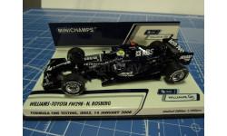F1 -WILLIAMS TOYOTA FW98B 2008 1/43 Minichamps