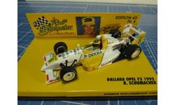 F3 DALLARA OPEL 1995 R.SCHUMACHER  1/43 Minichamps