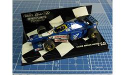 F1 -Ligier Mugen Honda 1/43 Minichamps, масштабная модель, 1:43
