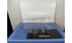 Тягач Комсомолец и ЗиС-2 1/43 Моделстрой Ремонт, масштабная модель, 1:43