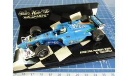 F1 Benetton Playlife B200 1/43 Minichamps
