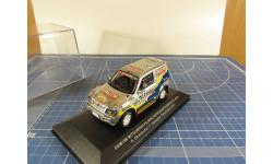 Mitsubishi Pajero 2001г. SKM198 1/43 IXO, масштабная модель, 1:43, IXO Rally (серии RAC, RAM)