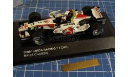 F1 HONDA Racing CAR 2006 1/43 CHASSIS, масштабная модель, 1:43