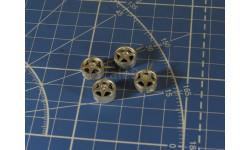Диски металл №2 Paris-Dakar Kit 1/43
