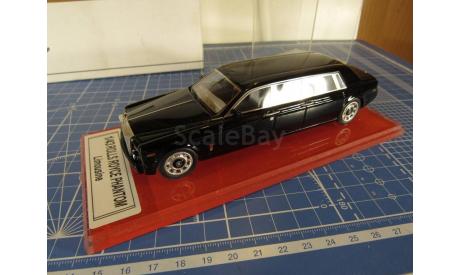 Rolls Royce Phantom Limousine 1/43 P.T.Model, масштабная модель, 1:43, Rolls-Royce