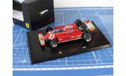 F1 Ferrari 126CK Vileneuve 1/43 Hot Wheels Elite, масштабная модель, 1:43