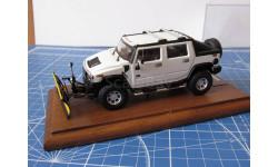 Hummer H2  SNO-WAY 1/43 GM-Art, масштабная модель, 1:43, Hammer