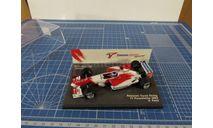 F1 Panasonis Toyota Rasing 2003 P. Panis 1/43 Minichamps, масштабная модель, 1:43