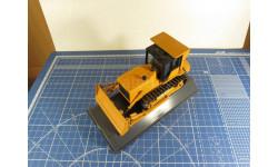 Бульдозер с лебёдкой 1/43 Промтрактор, масштабная модель, 1:43