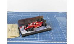 F1 Ferrari Ivan Kapelli  1/43 Minichamps, масштабная модель, 1:43