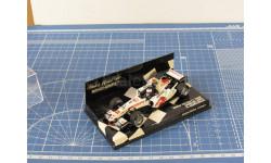 F1 Honda Racing 2006 Barrichello 1/43 Minichamps, масштабная модель, 1:43