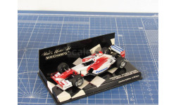 F1 Panasonic Toyota Launch Version 2003 1/43 Minichamps, масштабная модель, 1:43