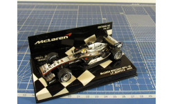 F1 McLaren Mercedes MP4 Montoya 1/43 Minichamps, масштабная модель, 1:43
