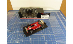 F1 Ferrari 126 CK 1/43 Brumm, масштабная модель, 1:43