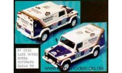 Land Rover Honda Rothmas Dakar 1989  1/43 Mini Racing Kit