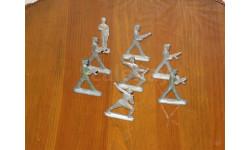 Оловянные солдатики СССР 8 шт, фигурка, scale0