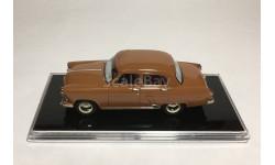 ICV102А ГАЗ-21И «Волга» 1958 г. светло-кофейный, масштабная модель, 1:43, 1/43
