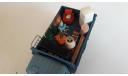 СарЛаб ЗИЛ-130 композиция 'Переезд 2' со следами эксплуатации, масштабная модель, 1:43, 1/43