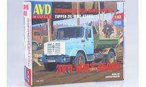 Сборная модель ЗИЛ-ММЗ-45085, сборная модель автомобиля, AVD Models, scale43