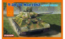 T-34/76 Mod.1942 w/Cast turret, сборные модели бронетехники, танков, бтт, Dragon, scale72
