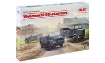 Внедорожные автомобили Вермахта, сборная модель автомобиля, ICM, scale35