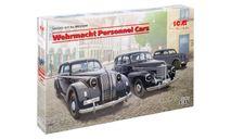 Легковые автомобили Вермахта, сборная модель автомобиля, ICM, scale35