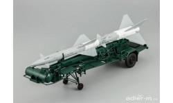 Транспортно-заряжающая машина ПР11А (с ракетой 13ДСУ), масштабная модель, DiP Models, 1:43, 1/43