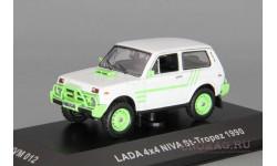 ВАЗ 2121 Lada 4X4 Niva St-Tropez (1990), белый / зеленый