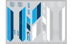 Набор декалей 0157 Контейнеры ТрансКонтейнер на маз (вариант 3) (200х70), фототравление, декали, краски, материалы, maksiprof, scale43