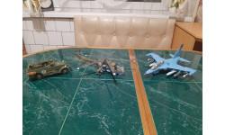 Самолёт Як-130, Вертолёт ми-24, Бронетранспортёр М3 скаут, сборные модели авиации, Звезда, 1:72, 1/72