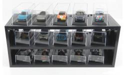 Стеллаж Подставка Полка (под 43 масштаб), боксы, коробки, стеллажи для моделей, Atlas