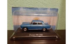 Peugeot 404 1968, масштабная модель, Altaya, 1:43, 1/43