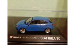 Seat Ibiza SC, масштабная модель, Fischer, scale43