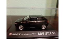 Seat Ibiza SC, масштабная модель, Fischer, 1:43, 1/43