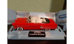 Ford Crestline Sunliner  1953, масштабная модель, Welly