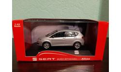 Seat Altea 2009, масштабная модель, Fischer, 1:43, 1/43