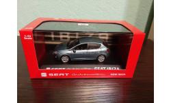 Seat Ibiza, масштабная модель, Fischer, scale43