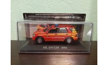 Mercedes-Benz ML 270 CDI 2002, масштабная модель, Altaya, 1:43, 1/43