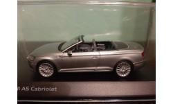 Audi A5 Convertible 2017 silver, масштабная модель, Spark, 1:43, 1/43