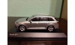 Audi Q7 2015, масштабная модель, Spark, 1:43, 1/43