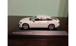 Audi A7 Sportback 2017, масштабная модель, Spark, 1:43, 1/43