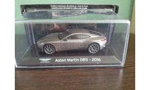 Aston Martin DB11 2016, масштабная модель, Altaya, scale43