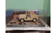 Land Rover 'The Living Daylights', масштабная модель, The James Bond Car Collection (Автомобили Джеймса Бонда), scale43
