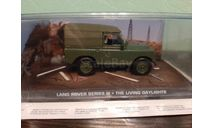 Land Rover Series III  'The Living Daylights', масштабная модель, The James Bond Car Collection (Автомобили Джеймса Бонда), scale43