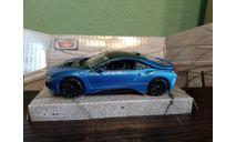 BMW i8, масштабная модель, MotorMax, scale43