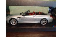 BMW M6 Convertible  silver  1:18, масштабная модель, Paragon Models, 1/18