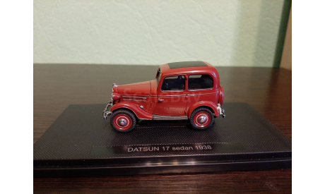 Datsun 17  Sedan 1938, масштабная модель, Ebbro, scale43